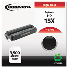 IVR83016 - Innovera Remanufactured C7115X (15X) Laser Toner, 3500 Yield, Black