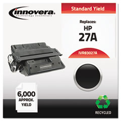 IVR83027A - Innovera Remanufactured C4127A (27A) Laser Toner, 6000 Yield, Black