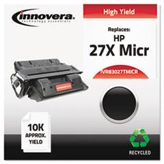 IVR83027TMICR - Innovera Remanufactured C4127A(M) MICR Toner, 10000 Yield, Black