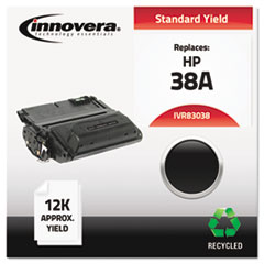 IVR83038 - Innovera Remanufactured Q1338A (38A) Laser Toner, 12000 Yield, Black