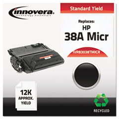 IVR83038TMICR - Innovera Remanufactured Q1338A MICR Toner, 12000 Yield, Black