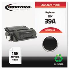 IVR83039 - Innovera Remanufactured Q1339A (39A) Laser Toner, 18000 Yield, Black