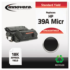 IVR83039TMICR - Innovera Remanufactured Q1339A MICR Toner, 18000 Yield, Black
