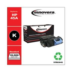 IVR83045 - Innovera Remanufactured Q5945A (45A) Laser Toner, 18000 Yield, Black