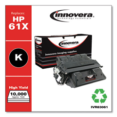 IVR83061 - Innovera Remanufactured C8061X (61X) Laser Toner, 10000 Yield, Black