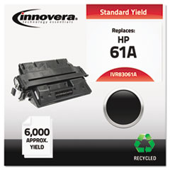 IVR83061A - Innovera Remanufactured C8061A (61A) Laser Toner, 6000 Yield, Black