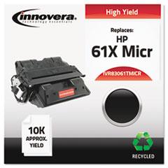 IVR83061TMICR - Innovera® 83061TMICR Compatible Remanufactured MICR Toner, Black