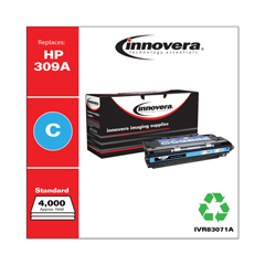 IVR83071A - Innovera Remanufactured Q2671A (309A) Laser Toner, 4000 Yield, Cyan