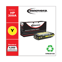 IVR83072A - Innovera Remanufactured Q2672A (309A) Laser Toner, 4000 Yield, Yellow