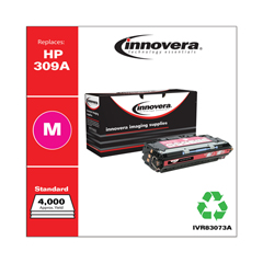 IVR83073A - Innovera Remanufactured Q2673A (309A)  Toner, 4000 Yield, Magenta