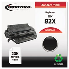 IVR83082 - Innovera Remanufactured C4182X (82X) Laser Toner, 20000 Yield, Black