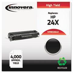 IVR83264X - Innovera Remanufactured Q2624X (24X) Laser Toner, 4000 Yield, Black
