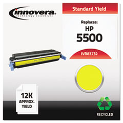 IVR83732 - Innovera Remanufactured C9732A (645A) Toner, 12000 Yield, Yellow