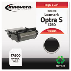 IVR83925 - Innovera Remanufactured 1382625 (Optra S) Toner, 17600 Yield, Black