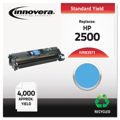 IVR83971 - Innovera Remanufactured Q3971A (123A) Laser Toner, 4000 Yield, Cyan