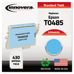 IVR848520 - Innovera 848520 Compatible, Remanufactured, T048520 Ink, 430 Page-Yield, Light Cyan