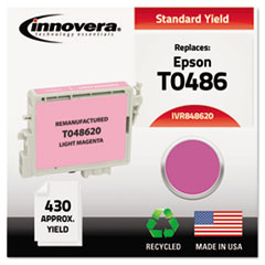 IVR848620 - Innovera 848620 Compatible, Remanufactured, T048620 Ink, 430 Page-Yield, Light Magenta