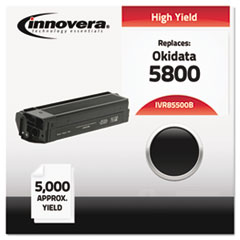 IVR85500B - Innovera Compatible with 43324404 (5500) Toner, 5000 Yield, Black