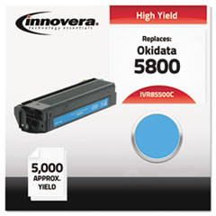 IVR85500C - Innovera Compatible with 43324403 (5500) Toner, 5000 Yield, Cyan