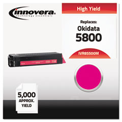 IVR85500M - Innovera Compatible with 43324402 (5500) Toner, 5000 Yield, Magenta