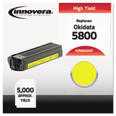 IVR85500Y - Innovera Compatible with 43324401 (5500) Toner, 5000 Yield, Yellow