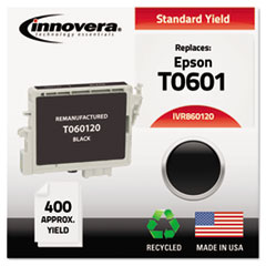 IVR860120 - Innovera Remanufactured T060120 Ink, 400 Page-Yield, Black