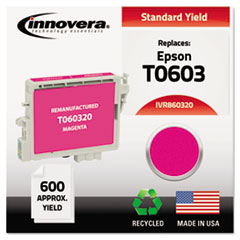 IVR860320 - Innovera Remanufactured T060320 Ink, 600 Page-Yield, Magenta