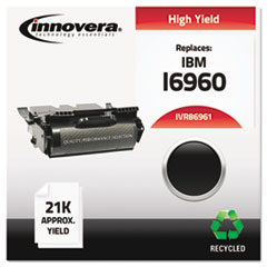 IVR86961 - Innovera Remanufactured 75P6961 Laser Toner, 21000 Page-Yield, Black