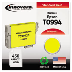 IVR99420 - Innovera Remanufactured T099420 (98) Ink, 450 Page-Yield, Yellow