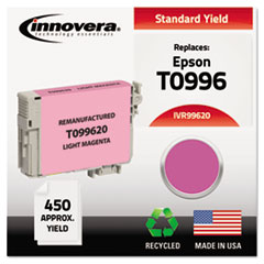 IVR99620 - Innovera Remanufactured T099620 (98) Ink, 450 Page-Yield, Light Magenta