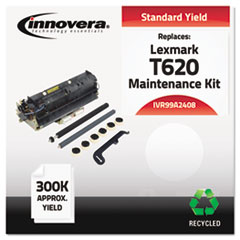 IVR99A2408 - Innovera Remanufactured 99A2408 (T620) Maintenance Kit, 300000 Yield
