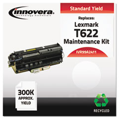 IVR99A2411 - Innovera Remanufactured 99A2411 (T622) Maintenance Kit, 300000 Yield