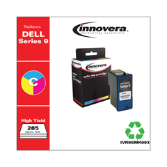 IVR9SMK993 - Innovera Remanufactured MK991 (Series 9) Ink, 285 Yield, Tri-Color