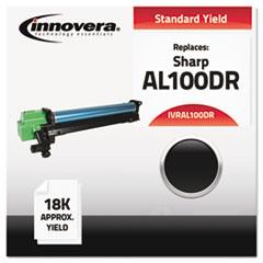 IVRAL100DR - Innovera Compatible with AL100DR Drum Unit, 18000 Yield, Black