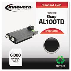 IVRAL100TD - Innovera Remanufactured AL100TD Laser Toner, 6000 Yield, Black