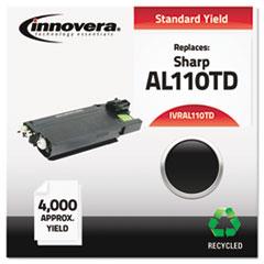 IVRAL110TD - Innovera Remanufactured AL110TD Laser Toner, 4000 Yield, Black