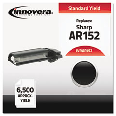 IVRAR152 - Innovera AR152 Compatible, Remanufactured, AR152NT Laser Toner, 6500 Yield, Black