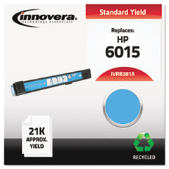 IVRB381A - Innovera Remanufactured CB381A (824A) Laser Toner, 21000 Yield, Cyan