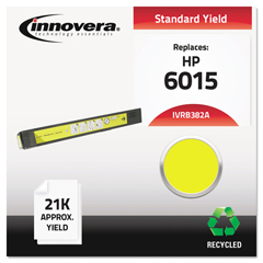 IVRB382A - Innovera Remanufactured CB382A (824A) Laser Toner, 21000 Yield, Yellow