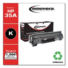 IVRB435A - Innovera Remanufactured CB435A (35A) Laser Toner, 1500 Yield, Black