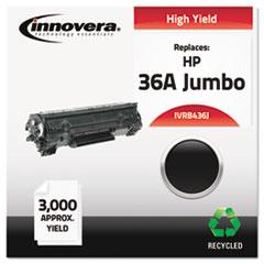 IVRB436J - Innovera Remanufactured CB436A(J) (36A) Laser Toner, 3000 Yield, Black