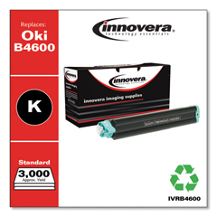 IVRB4600 - Innovera Compatible with 43502301 (B4600) Toner, 3000 Yield, Black