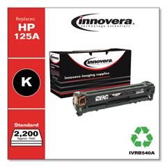 IVRB540A - Innovera Remanufactured CB540A (125A) Laser Toner, 2200 Yield, Black