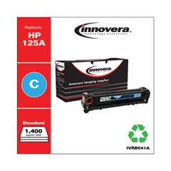 IVRB541A - Innovera Remanufactured CB541A (125A) Laser Toner, 1400 Yield, Cyan