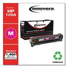 IVRB543A - Innovera Remanufactured CB543A (125A) Laser Toner, 1400 Yield, Magenta