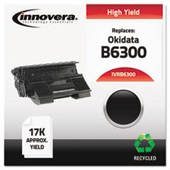 IVRB6300 - Innovera Remanufactured 52114502 (B6300) Toner, 17000 Yield, Black