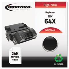 IVRC364X - Innovera Remanufactured CC364X (64X)  Toner, 24000 Yield, Black