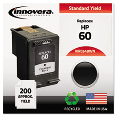 IVRC640WN - Innovera Remanufactured CC640WN (60) Ink, 200 Page-Yield, Black