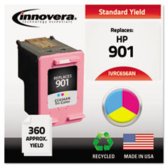 IVRC656AN - Innovera Remanufactured CC656AN (901) Ink, 360 Page-Yield, Tri-Color
