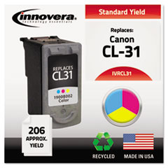 IVRCL31 - Innovera Remanufactured 1900B002 (CL-31) Ink, 206 Page-Yield, Tri-Color